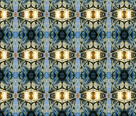 Sitting in the Light fabric by mbsmith on Spoonflower - custom fabric