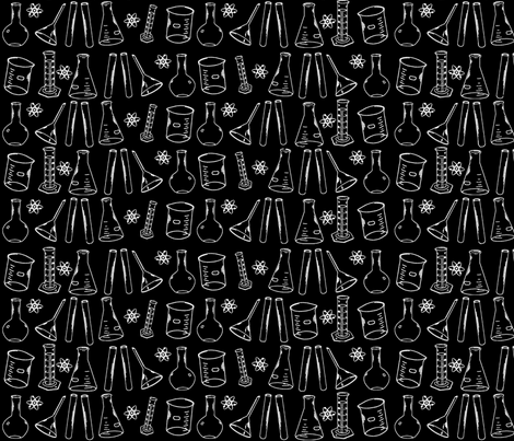 chemistrylab fabric by nocodazole on Spoonflower - custom fabric