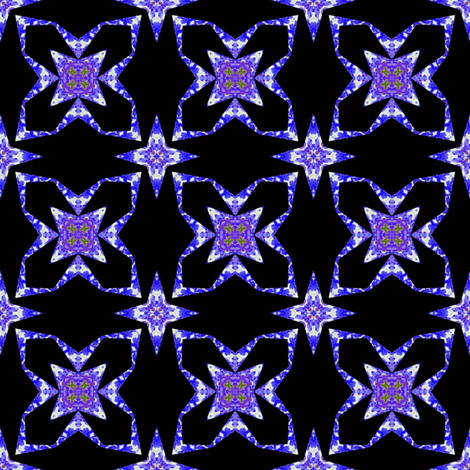Wisteria Wishes 3 fabric by dovetail_designs on Spoonflower - custom fabric
