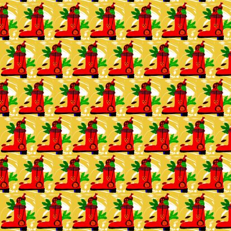 Christmas Boot fabric by angelgreen on Spoonflower - custom fabric