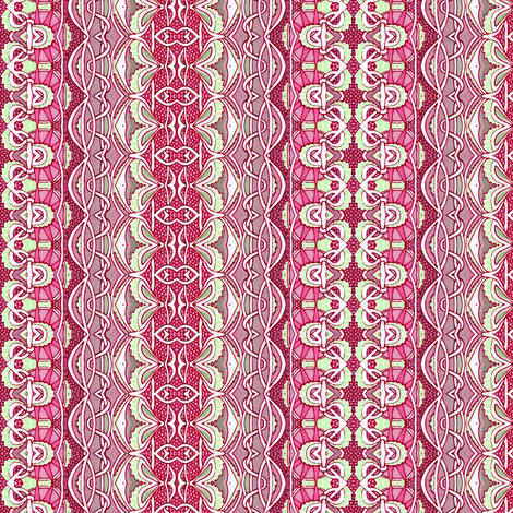 Victorian Dress Up Stripe (vertical) fabric by edsel2084 on Spoonflower - custom fabric