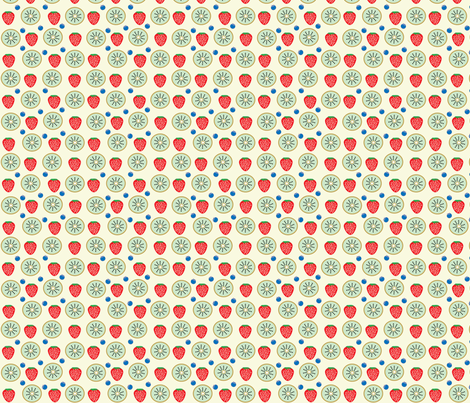Fruity Tooty  fabric by kiwicuties on Spoonflower - custom fabric