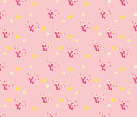 Ballet fabric by alexsan on Spoonflower - custom fabric