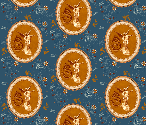 Sweet dreams ( zoom in please) fabric by paragonstudios on Spoonflower - custom fabric