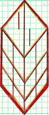 red diamond arrow small