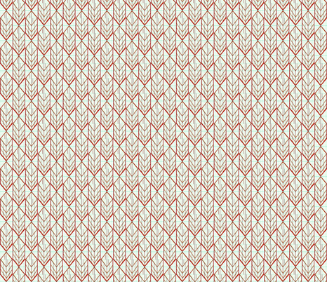 red diamond arrow small fabric by darci on Spoonflower - custom fabric
