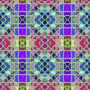 If Plaid Took Drugs (color combo C)