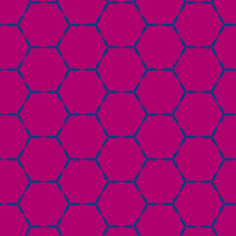 Honey Hive fabric by lana_kole on Spoonflower - custom fabric