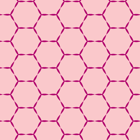 Honey Hive fabric by lana_kole on Spoonflower - custom fabric