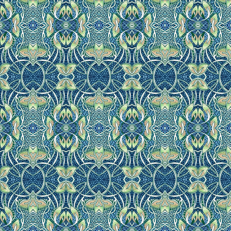How Very Art Nouveau fabric by edsel2084 on Spoonflower - custom fabric