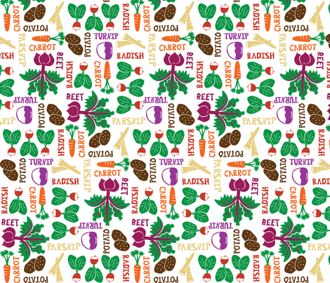 The Roots of all Gardens fabric by robyriker on Spoonflower - custom fabric