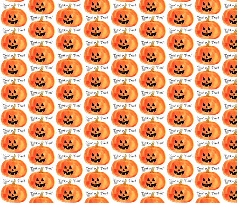 Trick-or-Treat fabric by karenharveycox on Spoonflower - custom fabric