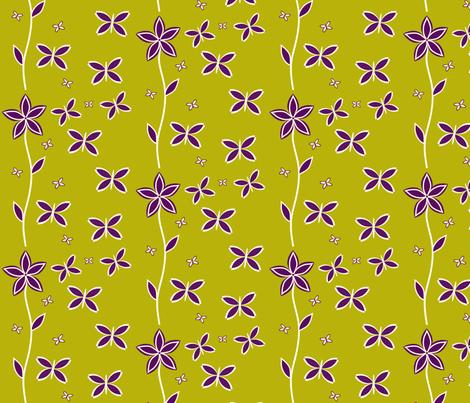 Halloween Garden Purple-ch