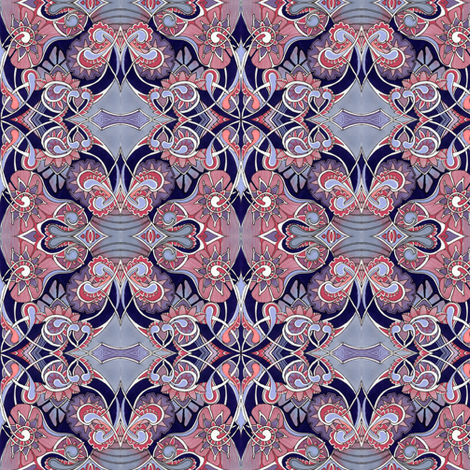 My Victorian Grandmother fabric by edsel2084 on Spoonflower - custom fabric