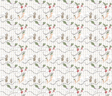 Roots and Wings fabric by eclectic_house on Spoonflower - custom fabric