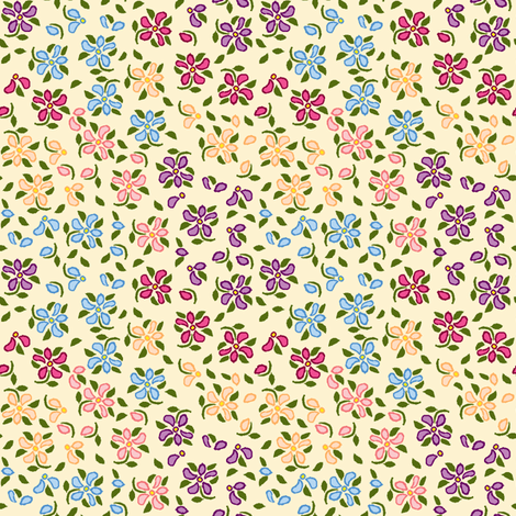 Flood of Flowers A eyelet_4_f_2_multi_tan A1 green-ch-ch