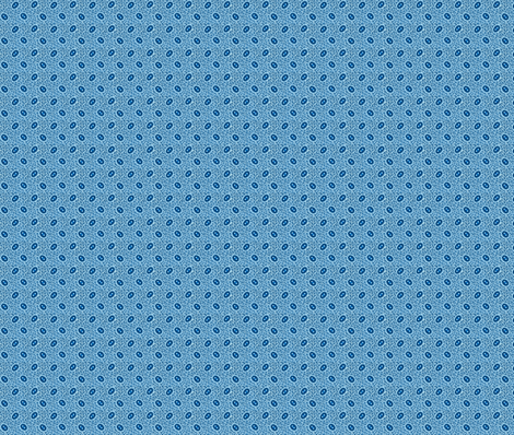 Double Blue Ovals 75% fabric by the_cornish_crone on Spoonflower - custom fabric