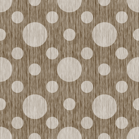 French linen bubbles - Natural fabric by kristopherk on Spoonflower - custom fabric