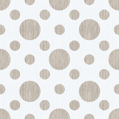 French linen bubbles - Antique White fabric by kristopherk on Spoonflower - custom fabric
