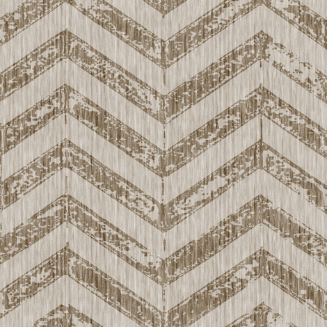 French Shabby ZigZag - Natural fabric by kristopherk on Spoonflower - custom fabric