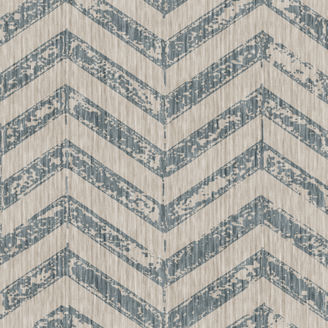 French Shabby ZigZag - Antique Blue fabric by kristopherk on Spoonflower - custom fabric