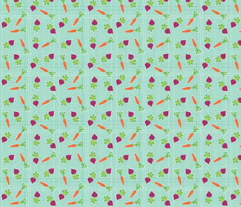 Olleke bolleke KNOL fabric by pieke_wieke on Spoonflower - custom fabric