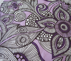 doodles purple and brown 01
