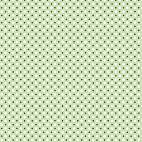 Green and White Polka Dots  ©2011 by Jane Walker
