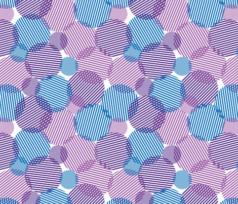 Chaos & Circles fabric by leighr on Spoonflower - custom fabric