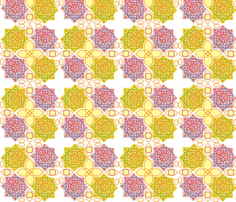 HEX_LAYOUT_1 fabric by pad_design on Spoonflower - custom fabric
