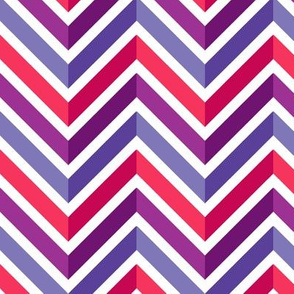 Mod Chevron (Piccadilly Punch)