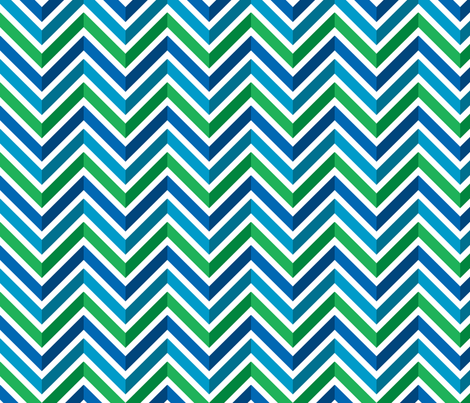 Mod Chevron (Covent Gardens) fabric by leighr on Spoonflower - custom fabric
