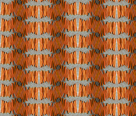Carrot Plaid fabric by allida on Spoonflower - custom fabric