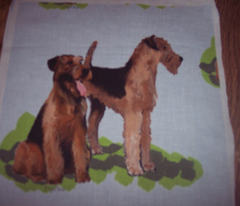 airedales fabric
