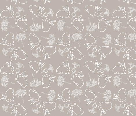 Farmer Browns Garden fabric by kdl on Spoonflower - custom fabric