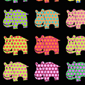polka hippos of joy LISCENSED ~ DO NOT USE