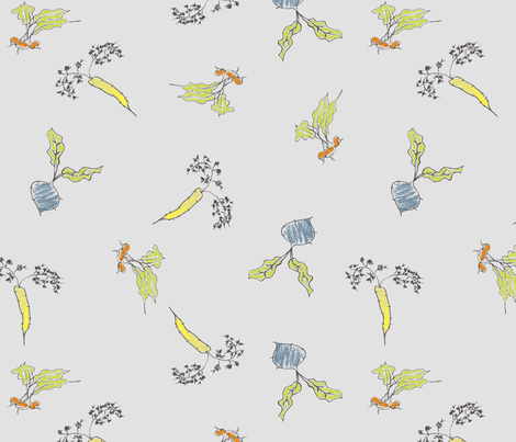 bright_vegatables fabric by kikis on Spoonflower - custom fabric