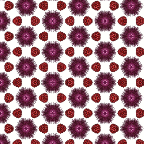 Secheli's Berries and Burrs fabric by siya on Spoonflower - custom fabric