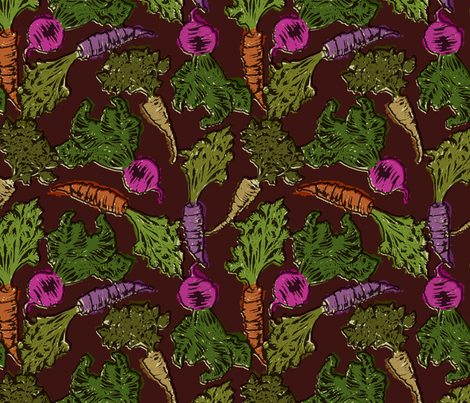 My roots. fabric by collectivesurfacellc on Spoonflower - custom fabric
