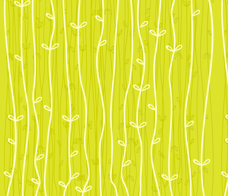 grass growing fabric by anastasiia-ku on Spoonflower - custom fabric