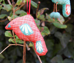 Little Hanging Birds - Cut and Sew Pattern