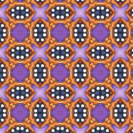 Suna's Seed Pods fabric by siya on Spoonflower - custom fabric