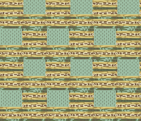 United States of Camouflage fabric by krydell on Spoonflower - custom fabric