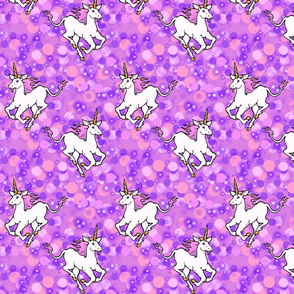 Galloping unicorns