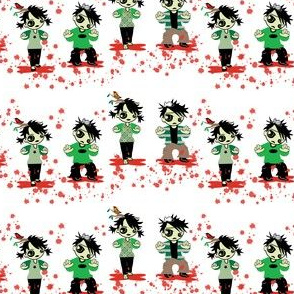 Zombie Splatter fabic