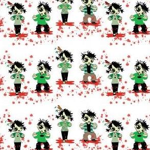 Zombie Splatter fabic