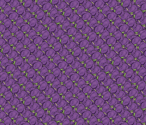 Iris madness fabric by hannafate on Spoonflower - custom fabric