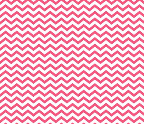 chevron hot pink fabric by misstiina on Spoonflower - custom fabric