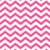 chevron dark pink and white