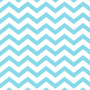 chevron sky blue